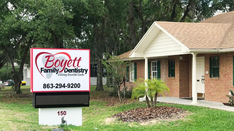 Contact Boyett Family Dentistry